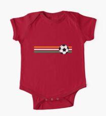 Football Stripes Ivory Coast One Piece - Short Sleeve