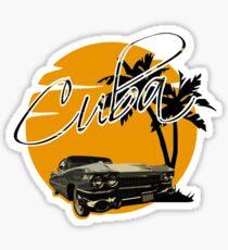 Cadillac - Cuba Sticker