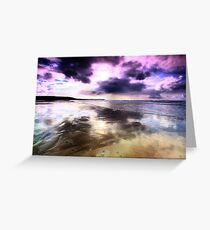 Elements - The purple fringe Greeting Card