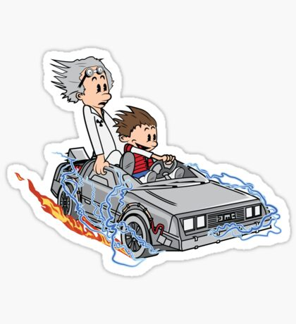 Great Scott !!! Sticker