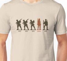 Left,Right, Left Unisex T-Shirt