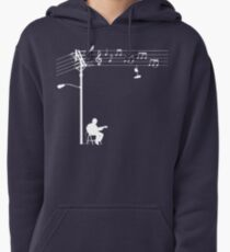 Wired Sound - White Pullover Hoodie