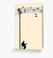 Wired Sound Greeting Card