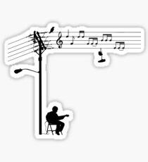 Wired Sound Sticker