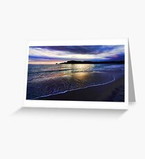 Adventure Bay Beach, Bruny Island, Tasmania, Australia Greeting Card