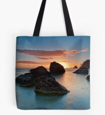 Te Teko Rocks Dawn Tote Bag