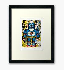 Thunderbot Framed Print