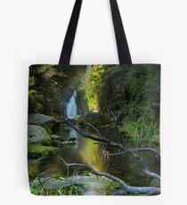 Ngatuhoa Ghost Fantail Rainbow Tote Bag
