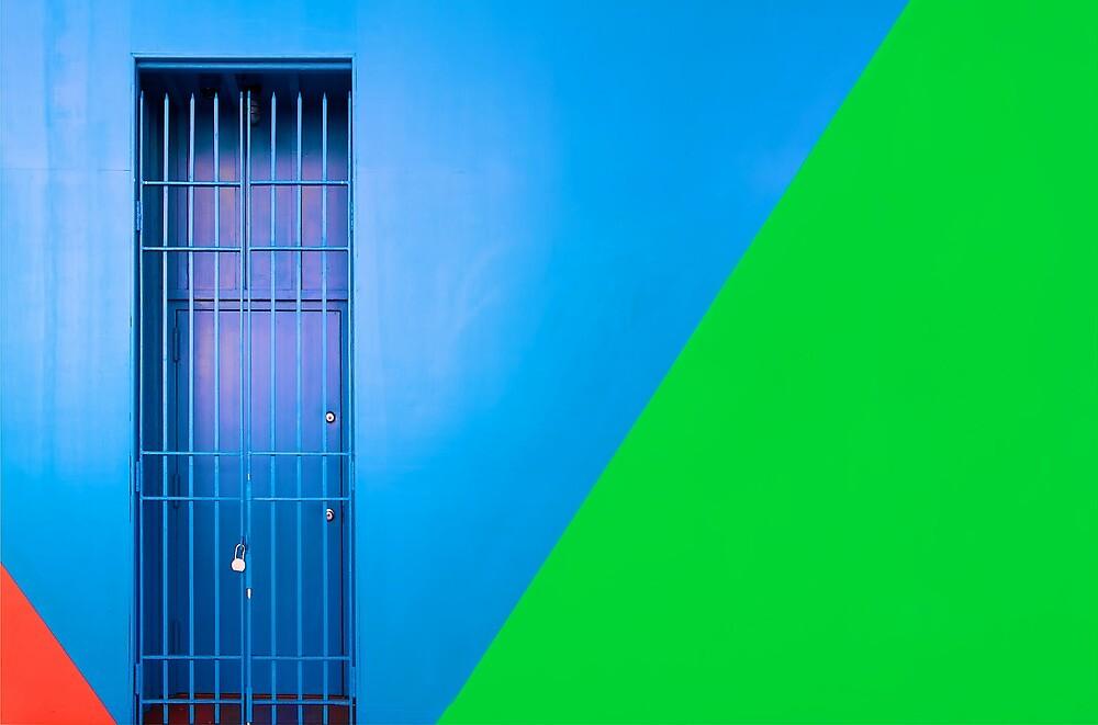 The Blue Door by fernblacker