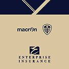Leeds United Away Kit 2013/14 Phone Case by James Frewin