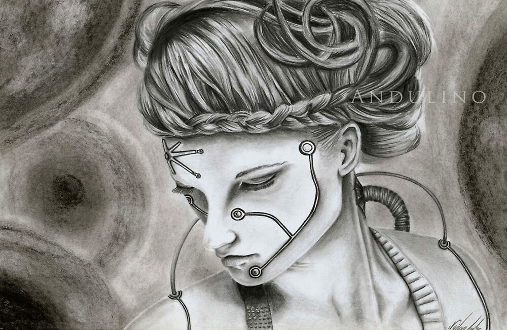 Oblivion drawing by Andulino