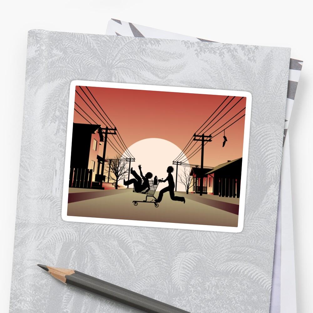 Sunset Suburban by zomboy