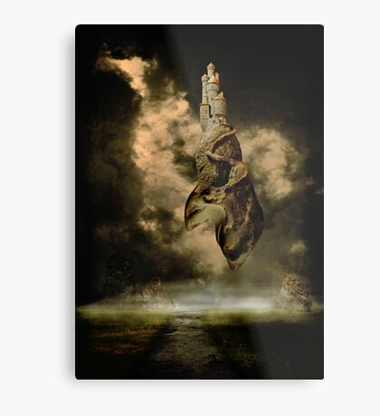 A Castle In The Sky Metal Print
