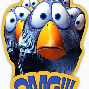 """Funny Birds"" #OmG by Temorisse"