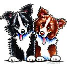 Little League Border Collies by offleashart
