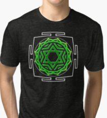 CHAKRA_4th_MANTRA_2014 Tri-blend T-Shirt