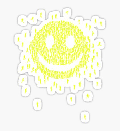 Happy Crowd Sticker