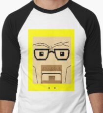 Breaking Bad Walter White Pixel Art Men's Baseball ¾ T-Shirt