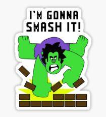 Smash-It Banner Sticker