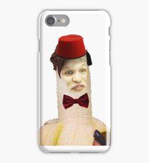 Banana Matt Smith iPhone Case/Skin