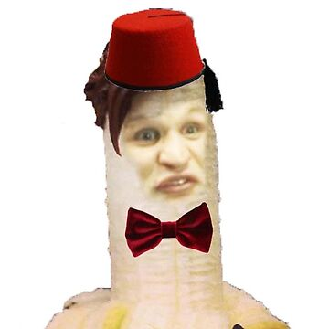 Banana Matt Smith by blklk