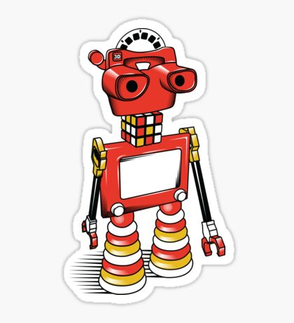 ViewBot 3000 Sticker
