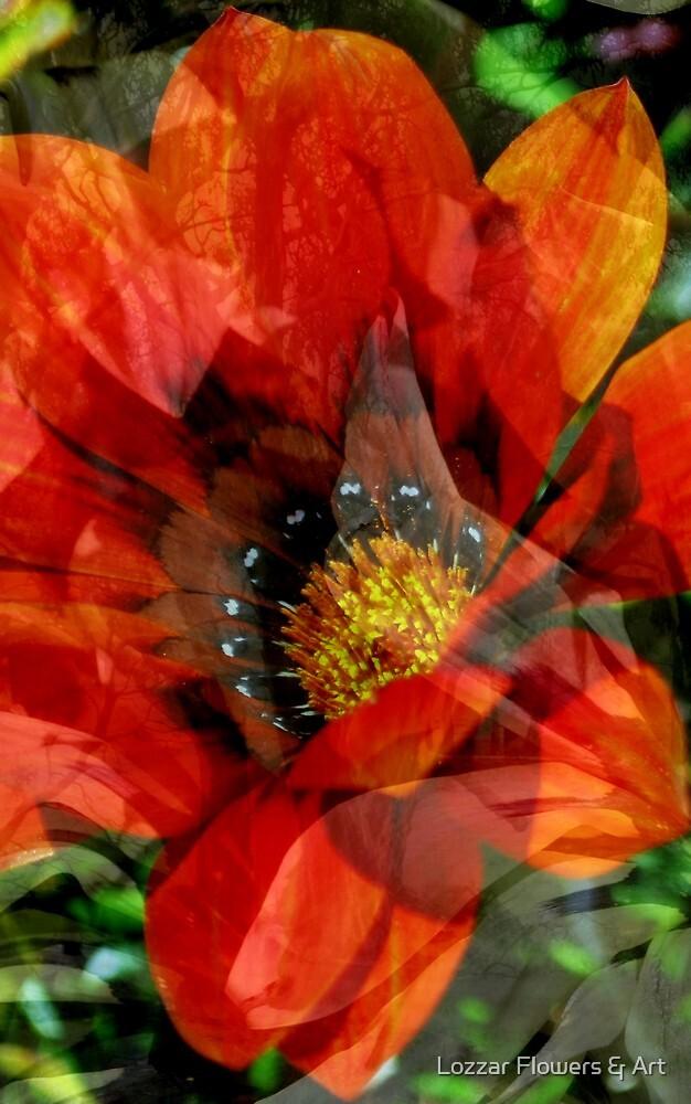 Joyful In Life by Lozzar Flowers & Art