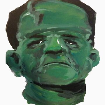 Frankenstein's Monster Painting by FlannelDave