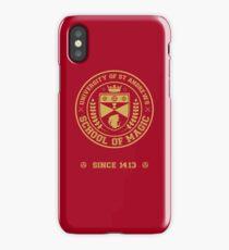 University of St Andrews School of Magic ver 2.0 iPhone Case/Skin