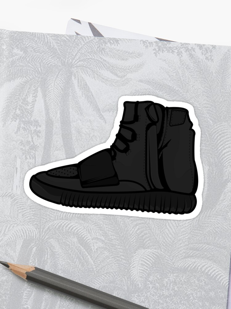watch a1f65 d00f6 Yeezy 750 Boost Black | Sticker