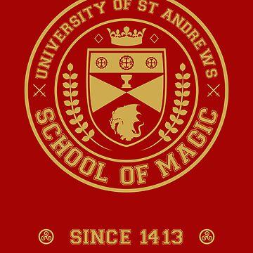 University of St Andrews School of Magic ver 2.0 by Muta