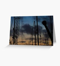 #crane Greeting Card