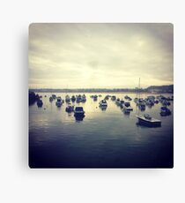 Gorey Boats Canvas Print
