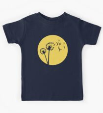 Dandylion Flight - Reversed Circular Kids Tee