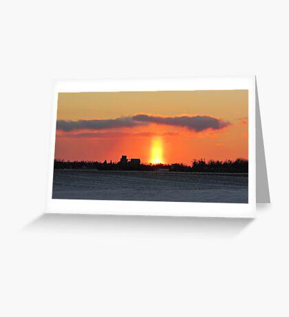 Prairie Geyser Greeting Card