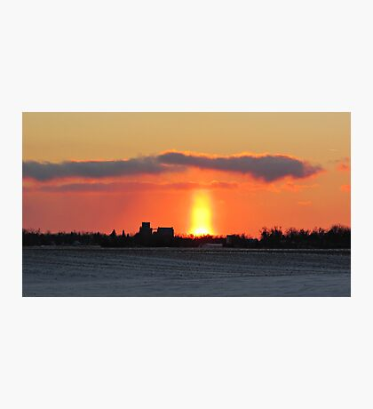 Prairie Geyser Photographic Print