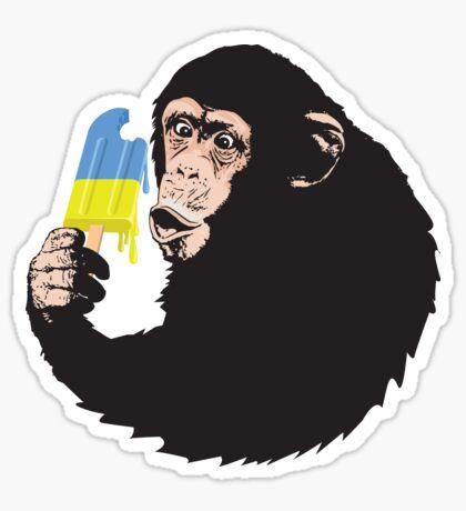 Oooooz Chimp Sticker