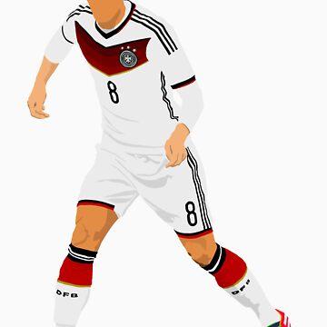 Mesut Özil - Minimalistic Design #2 by CongressTart