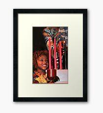 Wonderment!  Kwanzaa, Kuumba (Creativity)  Framed Print