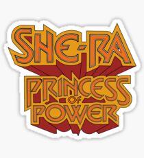 She-Ra Princess of Power - Logo - Color Sticker