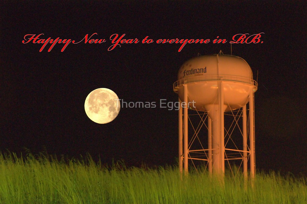 Happy New Year to all in RB.... by Thomas Eggert