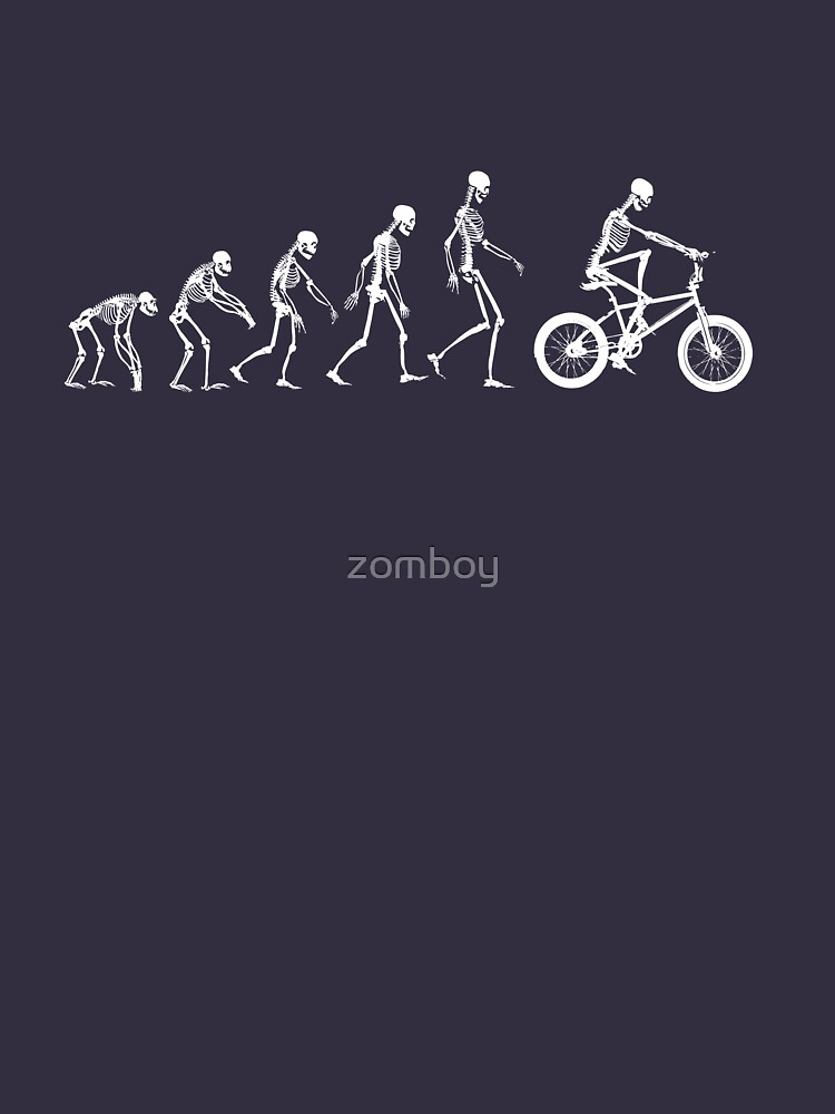 Evolution BMX Skeletons by zomboy