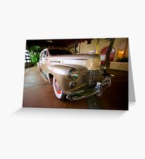 Ride to Classic Hollywood Greeting Card