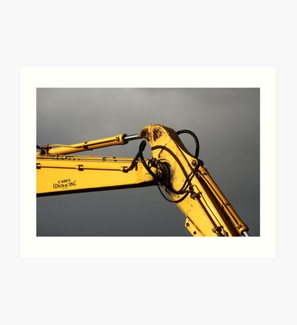 Yellow Arm Art Print