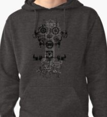 Ghost In The Society Machine Pullover Hoodie