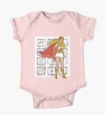 She-Ra Princess of Power - Transformation Storyboard Background One Piece - Short Sleeve