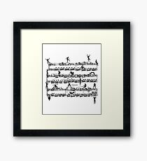 Mozart Men Framed Print