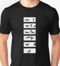 Cheetah Run Unisex T-Shirt