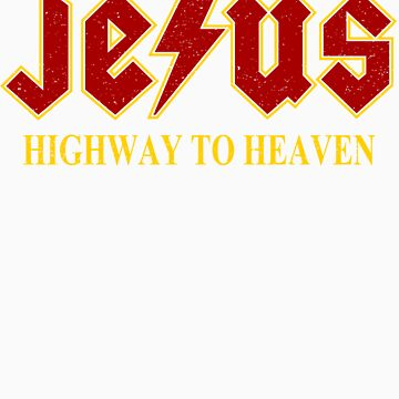 Jesus - Highway to Heaven by DavidAyala