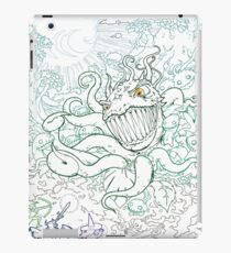 It Was A Fierce Forest Battle iPad Case/Skin